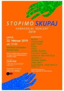 Dobrodelni koncert Stopimo skupaj 2019
